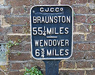 Grand Union Canal Milepost